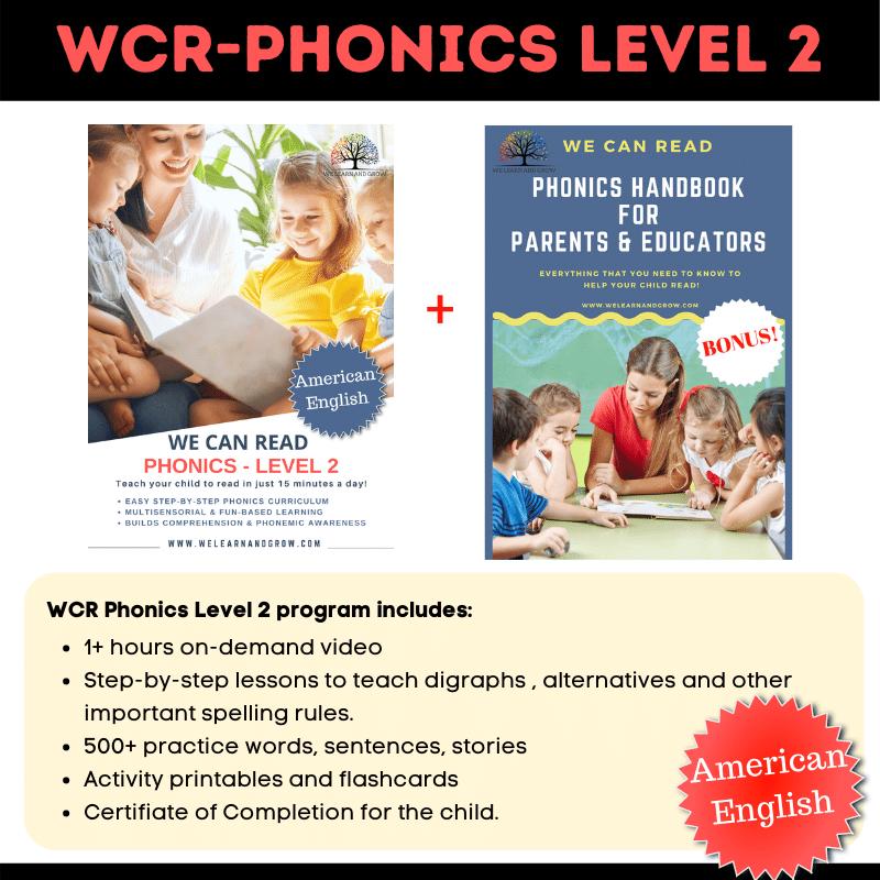 We Can Read - Phonics Level 2 - AE