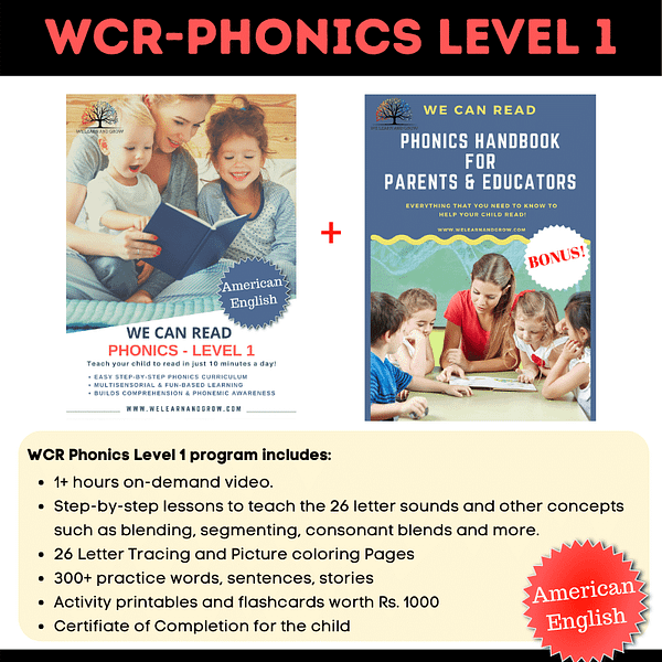 We Can Read - Phonics Level 1 - AE