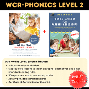We Can Read-Phonics Level 2-British English