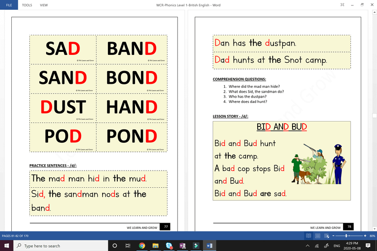 We Can Read Phonics - Lesson Page - 2