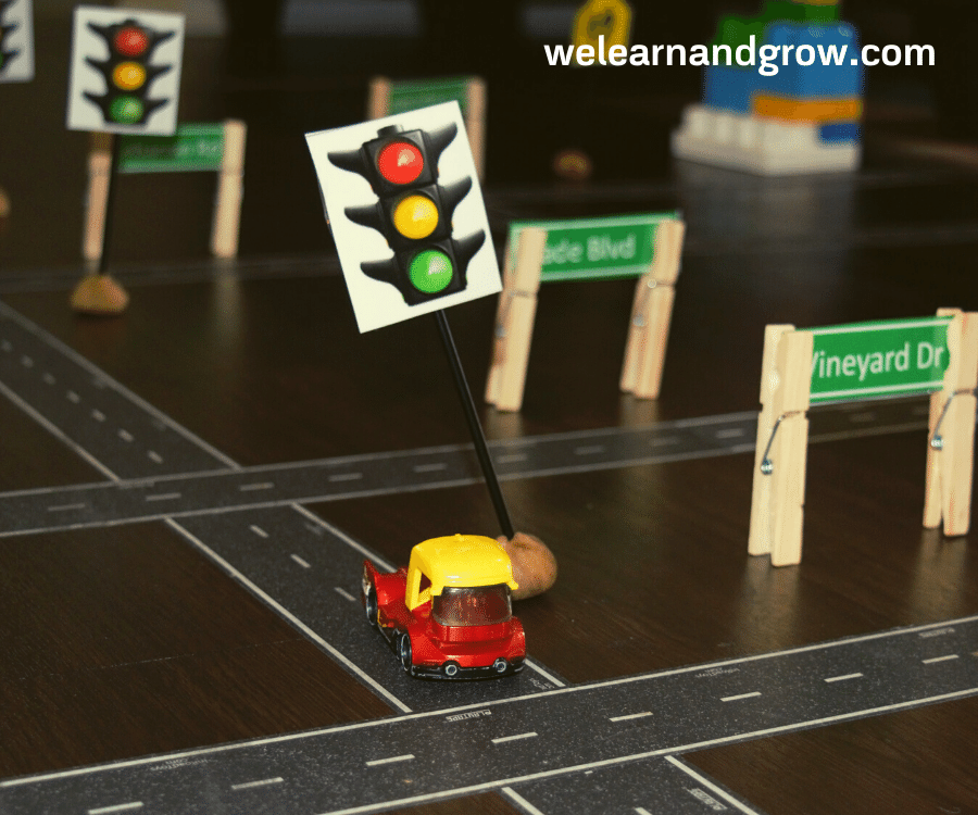 traffic sign kids printable - road signs for kids we learn - we learn and grow