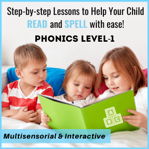 Step by step phonics curriculum for children help your child read we learn and grow