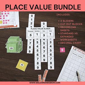Place Value Bundle Thumbnail
