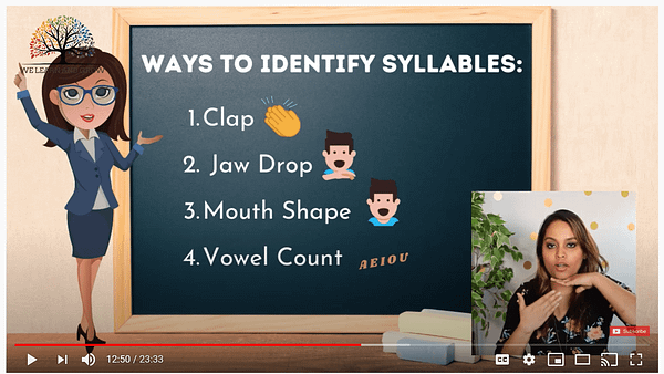 Syllables count-min