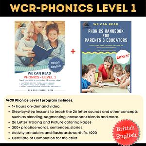 We Can Read - Phonics Level 1